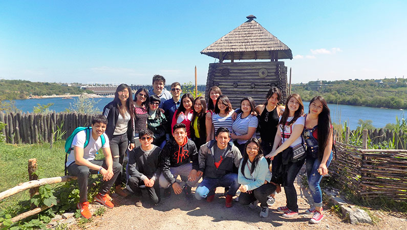 History and culture of Zaporizhzhia for foreign students