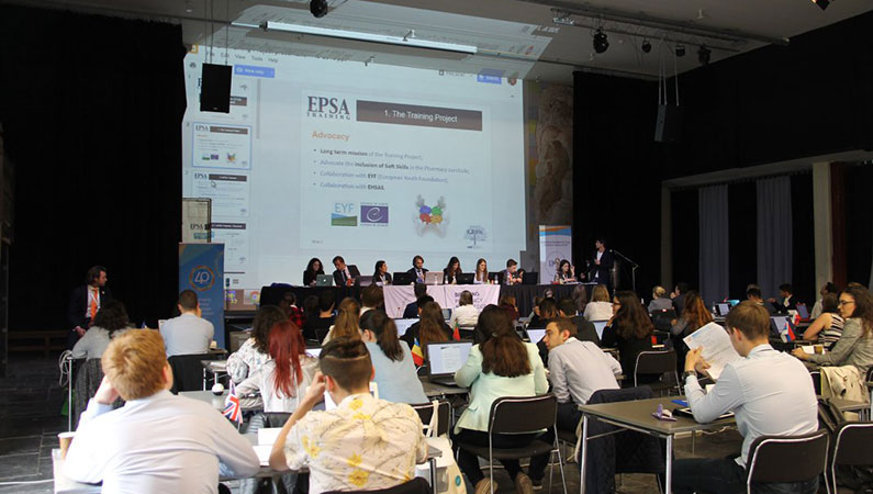 ZSMU Student Council has become a member of the European Pharmaceutical Students' Association