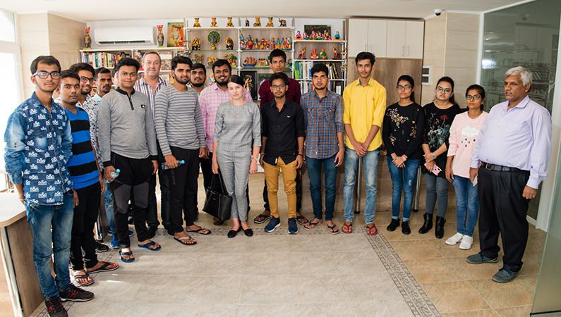 ZSMU meets Indian students