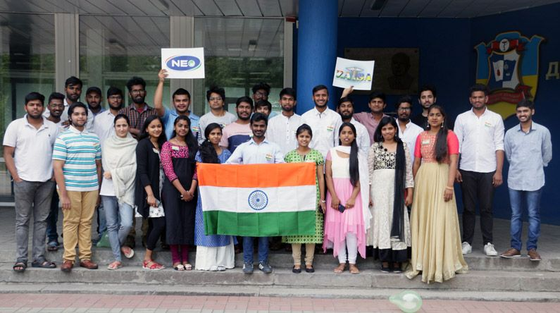 ZSMU Celebrated India's Independence Day