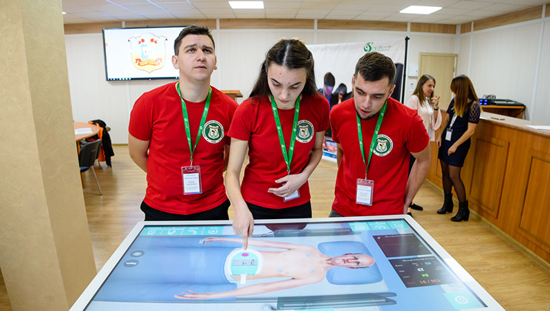 Clinical competition in the virtual environment was held at ZSMU